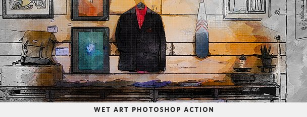 Painting 2 Photoshop Action Bundle - 113