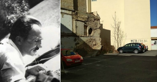 Μόνο στην Ελλάδα μπορούσε να γίνει: Γκρέμισαν το σπίτι του Καζαντζάκη στο Ηράκλειο για να φτιάξουν πάρκινγκ!!!