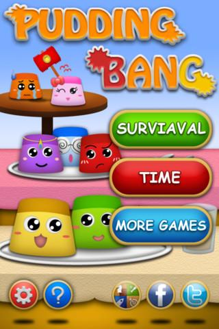 Blog Game: iOS Games Pudding Bang (Free App Of The Day : 12