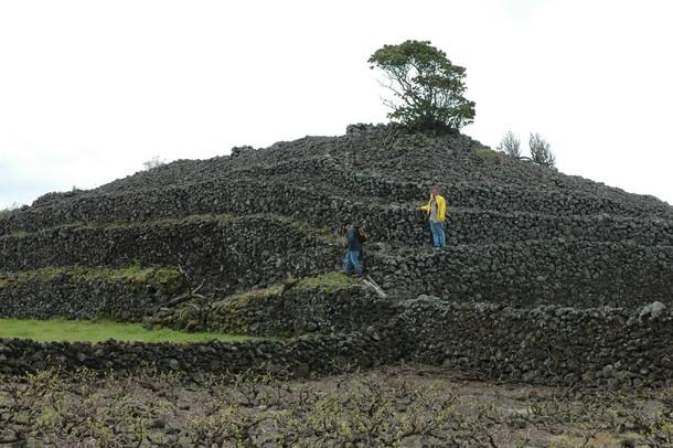 Pirâmide nos Açores
