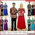 ZBT08309 Kebaya Batik Couple Sarimbit Gamis Cardigan BMGShop