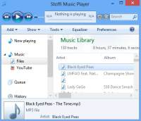 Player musicale perfetto per Windows: Stoffi Music Player