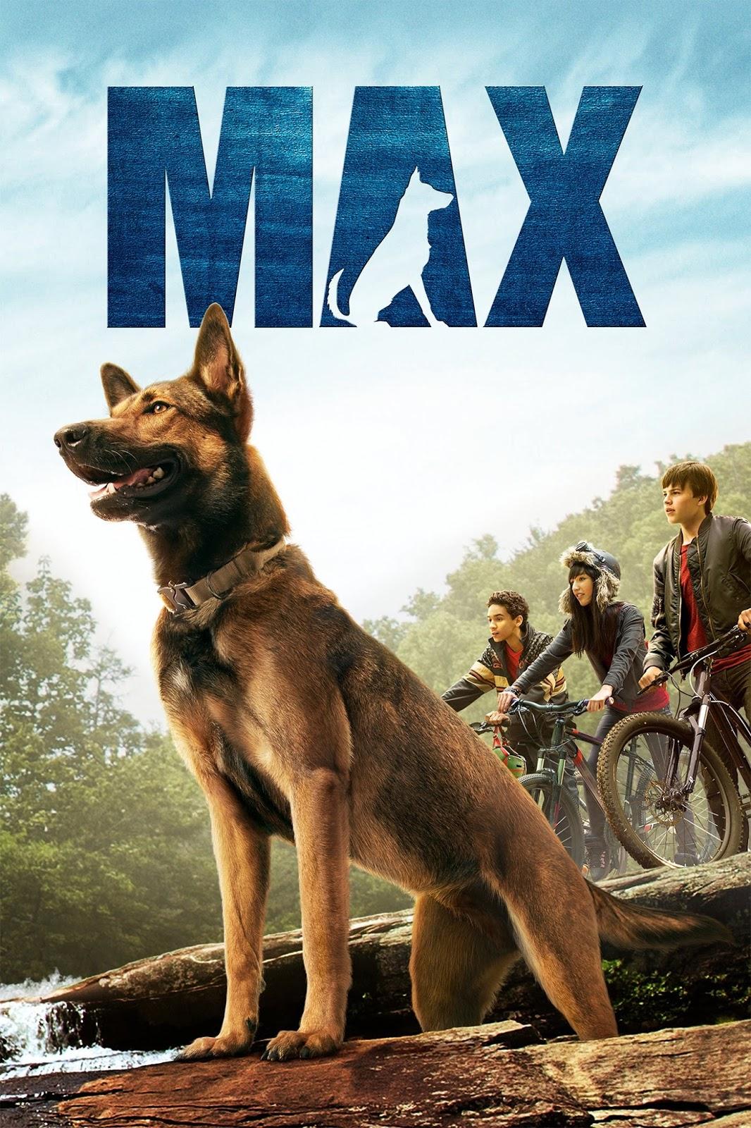 Poster do filme Max: O Cão Herói
