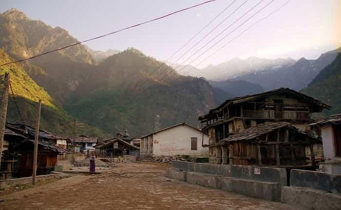 Kharsali Village