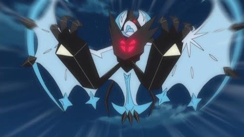 Pokemon Sol y Luna Capitulo 88 Temporada 20 Lunala vs el Ultraente oscuro, una batalla en la luna llena