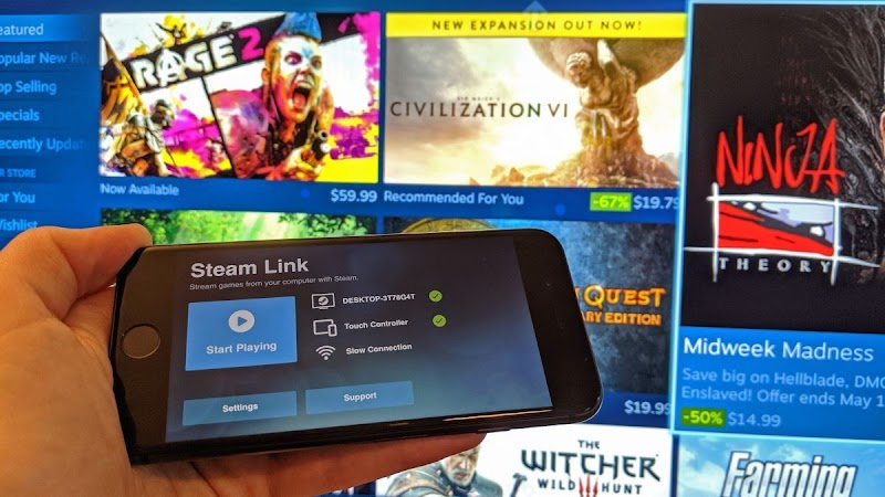 [Share] Steam Link chính thức cập bến AppStore, người dùng có thể chơi game PC ngay trên iPhone, iPad của mình