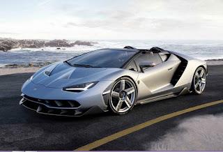 2016 Lamborghini Centenario Roadster Front Side Picture