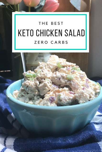 0 CARBS KETO CHICKEN SALAD