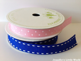 A selection of simple ribbon crafts
