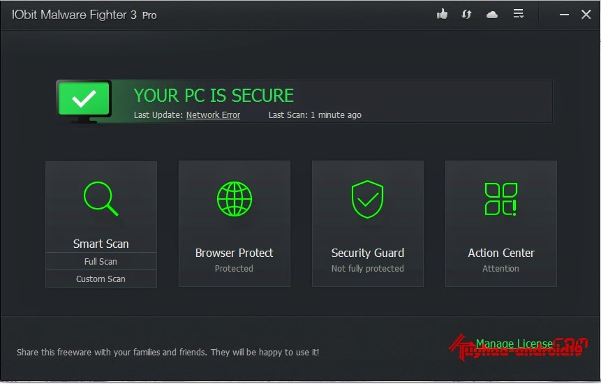 Iobit Malware Fighter full version