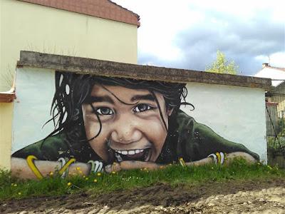 Mural en Lakuntza
