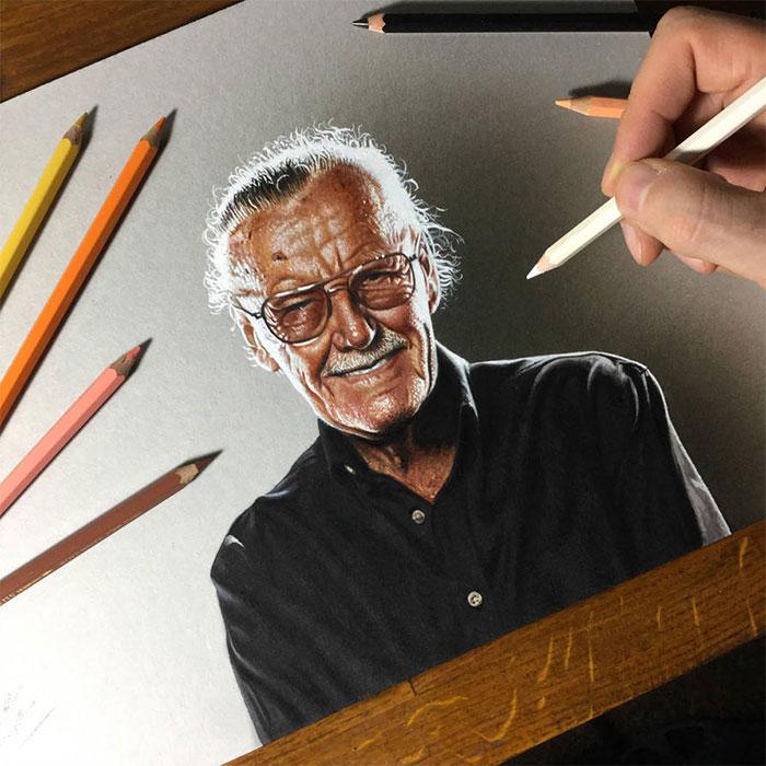 ilustraciones-tributo-honor-leyenda-comic-stan-lee