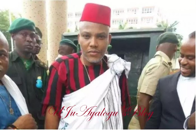 I Will Never Go on Exile or Be Intimidated by Buhari - Nnamdi Kanu Boasts (Video)