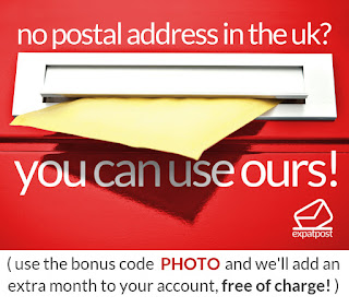 No Postal address in the UK - You can use ours Expost UK