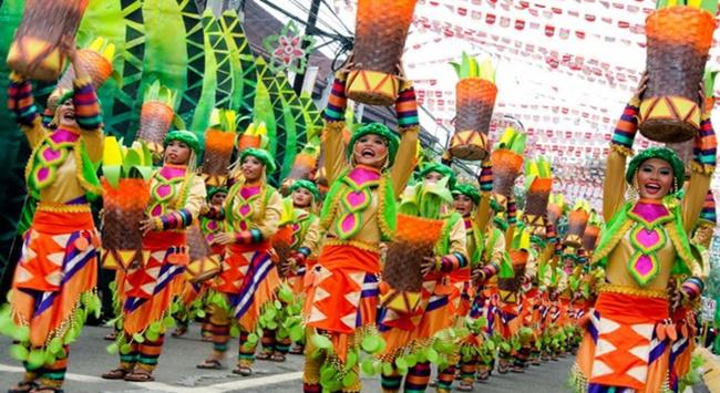 Sinulog Festival In Philippines