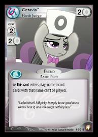 My Little Pony Octavia, Harsh Judge Equestrian Odysseys CCG Card