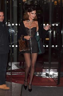 Bella Hadid Leaving the Royal Monceau el 3
