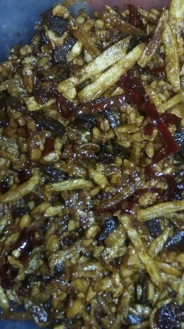 Resep kering tempe kentang daging rumah makan ciwidey