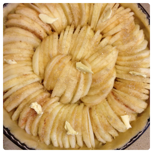 Sweet Kwisine, tarte aux pommes,  pâte sablée, recette facile, martinique