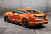 Ford Mustang EcoBoost with 2.3L High Performance Package (2020) Rear Side