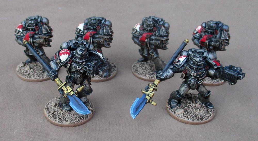 Grey Knight Terminators Nemesis Psi Halberd A Arms *BITS*