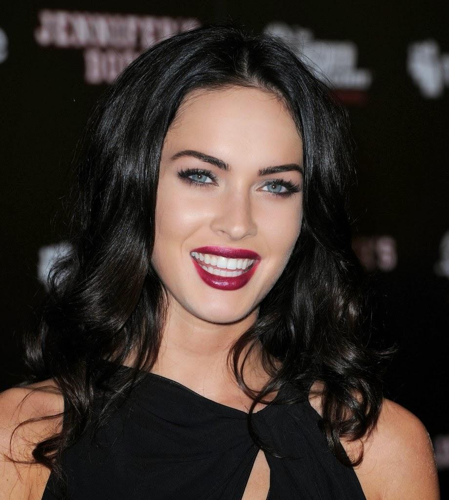 Megan Fox: Fall Lip Inspiration Light-Medium-Dark