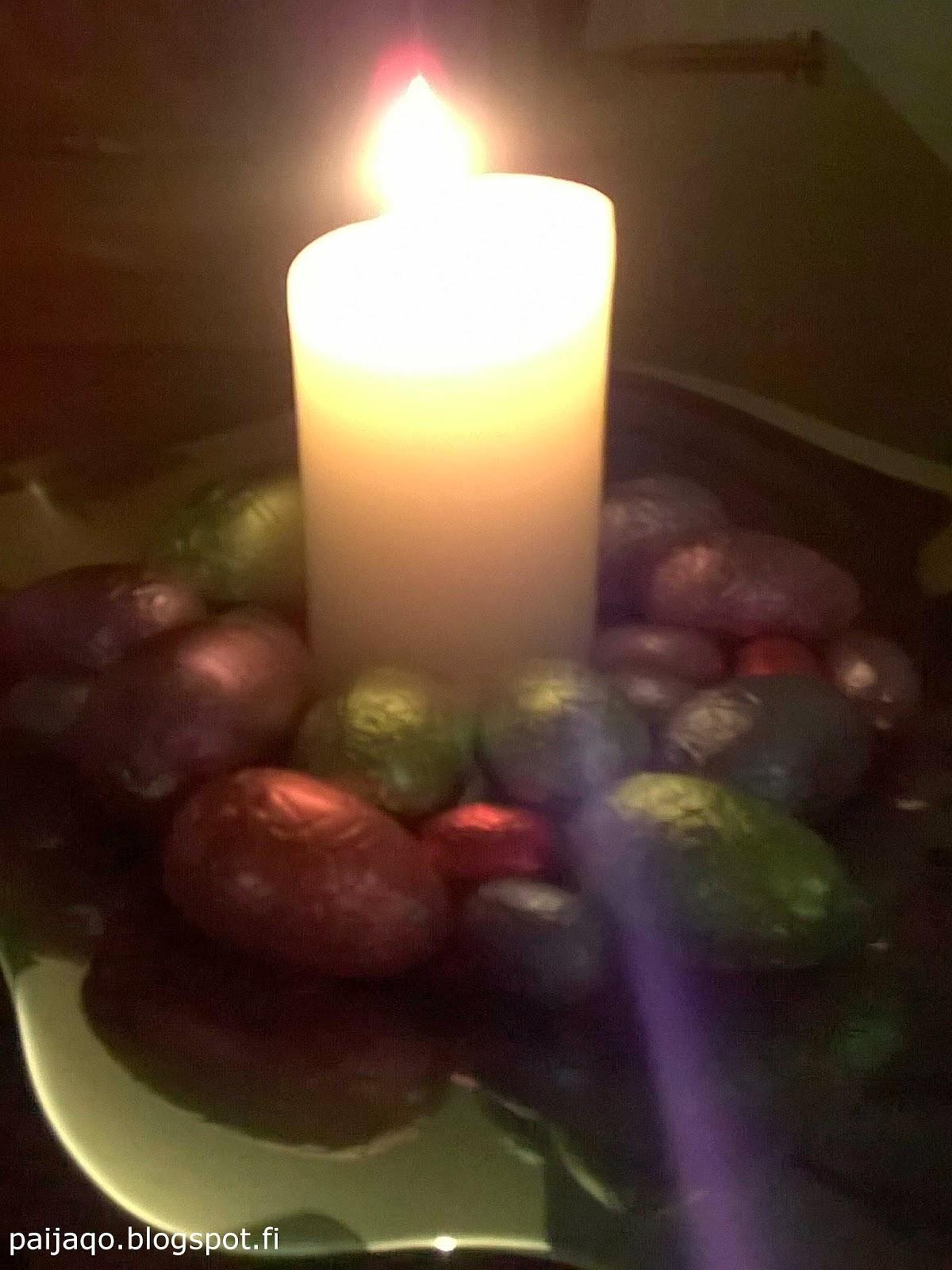 lankalauantai kynttilä