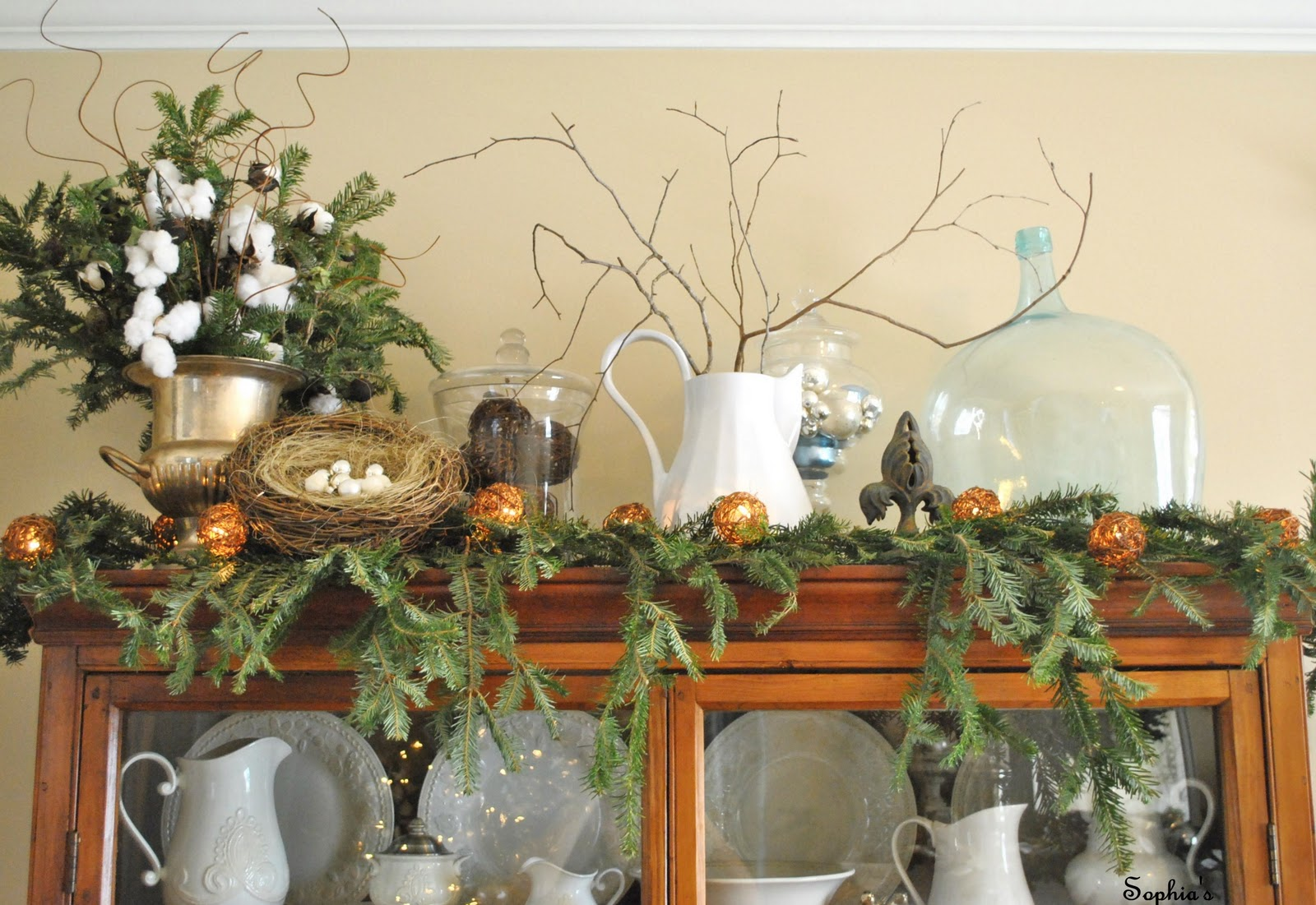 Pleasant Christmas Cabinet Decorations Complete Home Design Collection Barbaintelli Responsecom