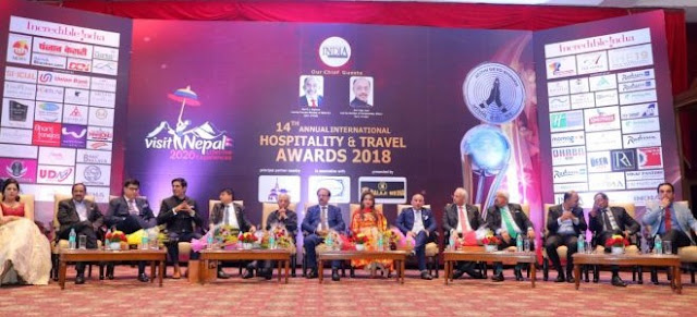 Nepal bags tourism awards at 14th Annual Travel Awards ceremony held in New Delhi