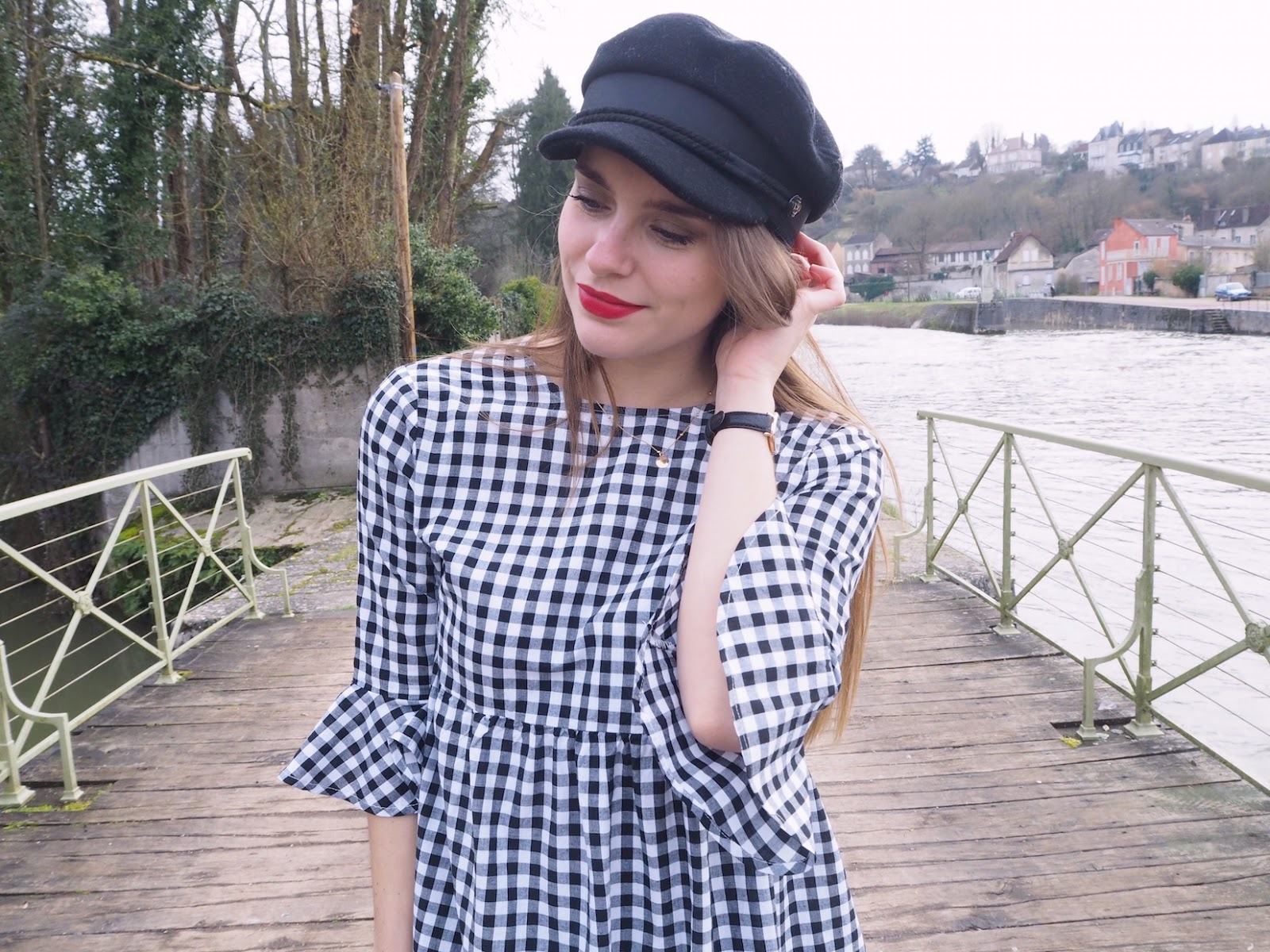 look robe vichy