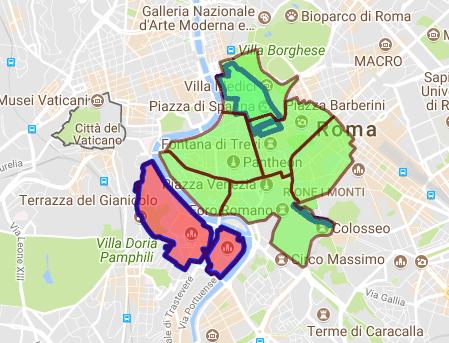 Cartina Ztl Napoli.Rerum Romanarum Quali Sono Gli Orari Della Ztl Del Centro Storico Di Roma