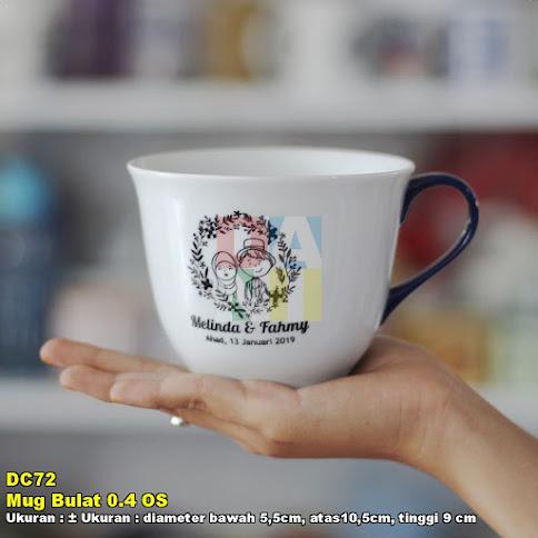 Mug Bulat 0.4 OS