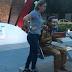 Indignación por protección de policías a estatua de Diomedes Díaz en Valledupar