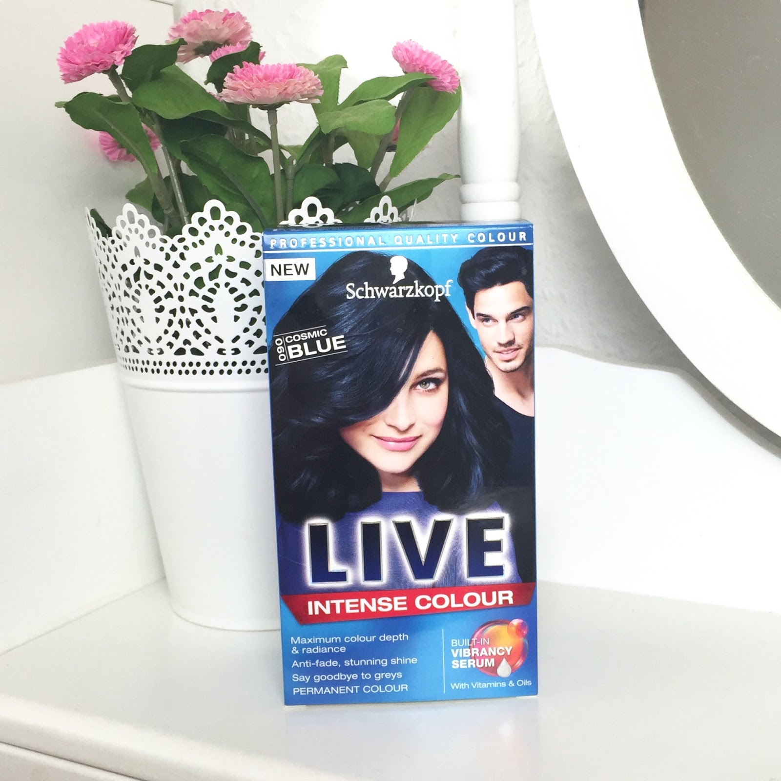 Dying My Hair Cosmic Blue With Schwarzkopf Live Only In