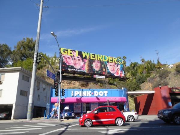 Workaholics season 6 Get Weirder billboard