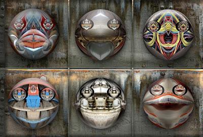 RIVISMO. Rostros de la Materia y Máscaras Experienciales. Obras de Ramón Rivas