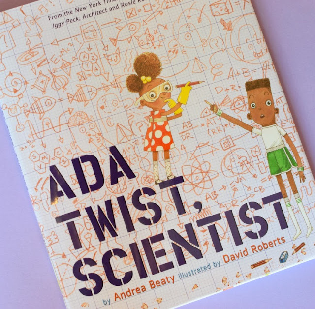 Ada Twist, Scientist, part of September Reading Roundup - favorite book finds from my family to yours.