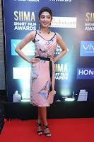 Actress Pranitha Subhash Pos in Short Dress at SIIMA Short Film Awards 2017 .COM 0006.JPG