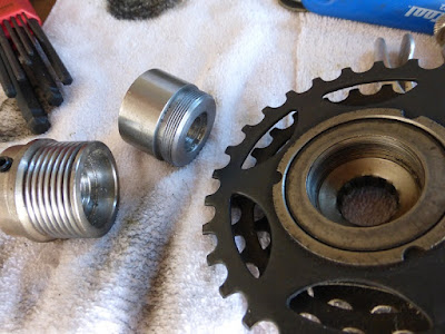 freewheel hub adapter