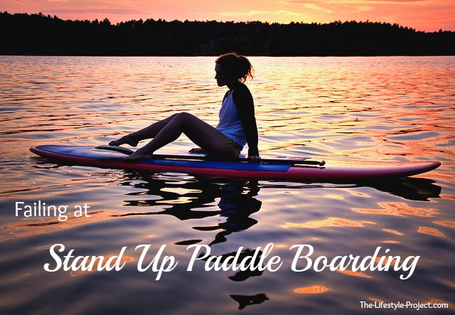 How not to stand up paddle board