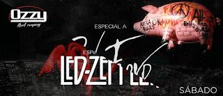 Tributo a Led Zeppelin y Pink Floyd en Bogotá