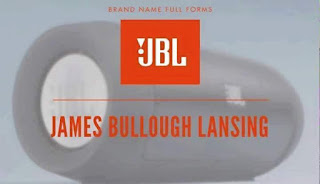 Logo JBL - James Bullough Lansing
