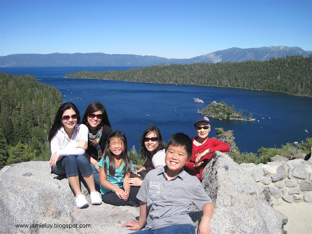 Family Vacation at Lake Tahoe, Nevada