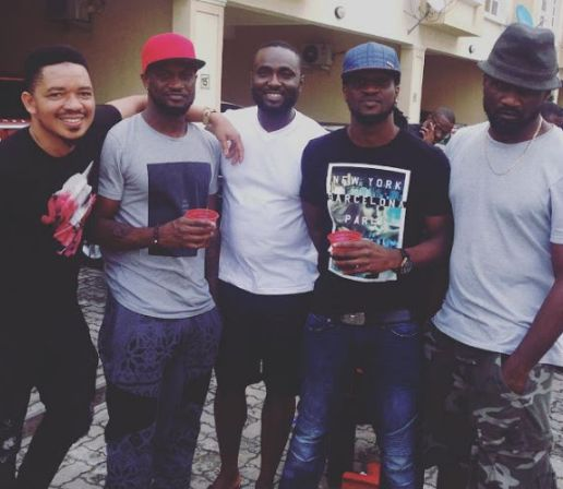 Brothers…Jude, Peter & Paul Okoye Meet After A Long Time