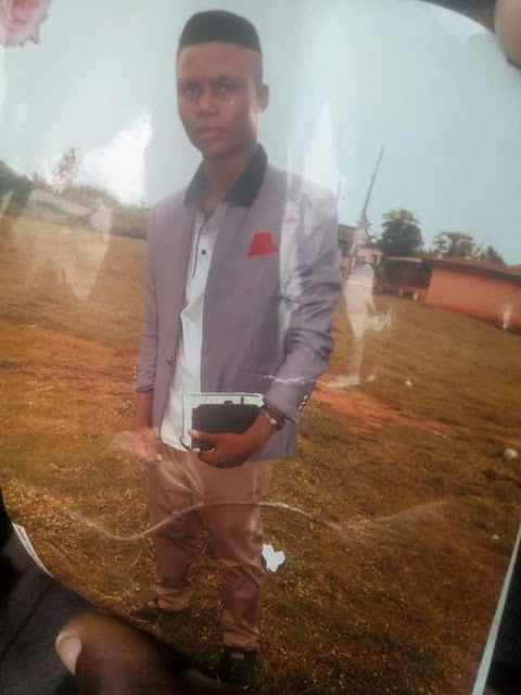 Photos: Commercial motorcyclist beheaded by suspected ritualists in Ogun state on Valentine