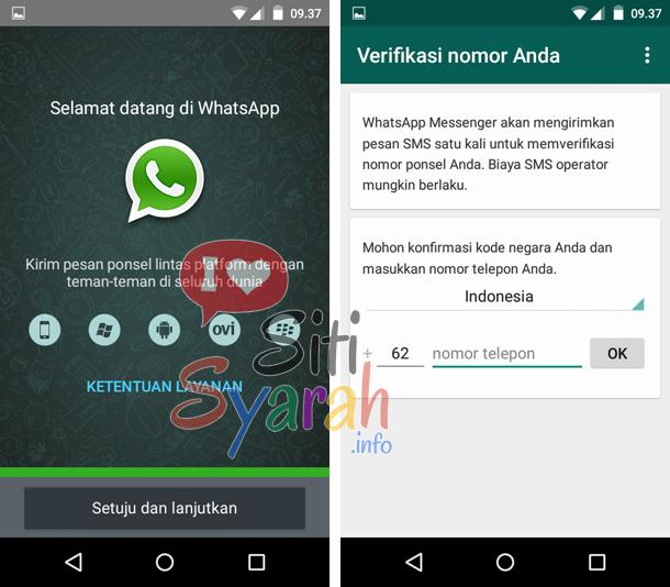 cara membuat whatsapp android