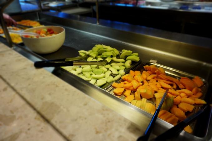 msc divina karibian risteilyn terveellinen ruoka