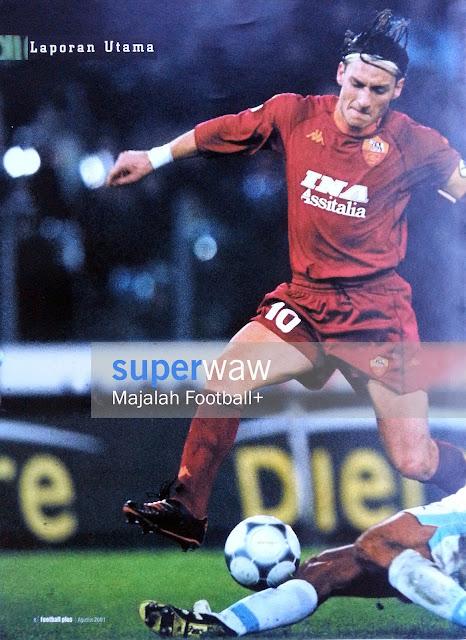Pin up Francesco Totti (AS Roma 2000)