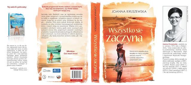 """Zapowiedź """"Nic się nie kończy"""" Joanna Kruszewska"""