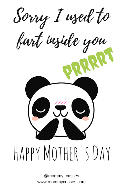 terrible mother's day cards
